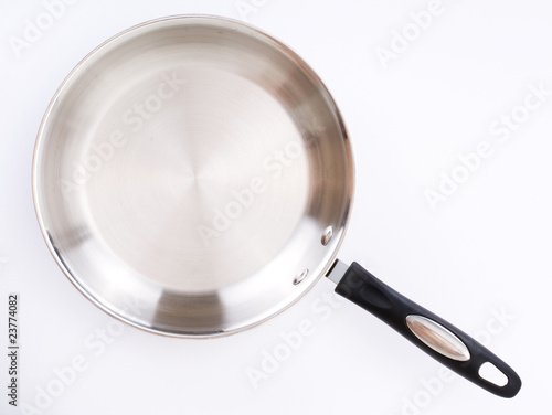 series of images of kitchen ware. Fry pan