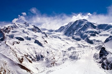 Ski Path at Matterhorn Switzerland