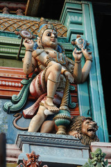 Vishnu - Supreme God in the Vaishnavite tradition of Hinduism