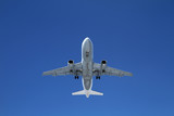 Airbus Landung Flughafen