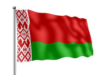 Weißrussland-Flagge