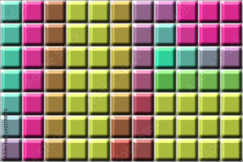 farbige fliesen kacheln von frank rohde lizenzfreies foto. Black Bedroom Furniture Sets. Home Design Ideas