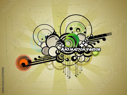 grunge vector illustration
