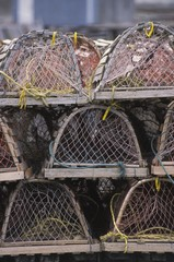 Empty Crab Traps, St. John's, Newfoundland, Canada