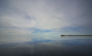 Reflection Of The Sky In The Arctic Ocean
