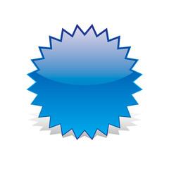 cerchio blu stellato ombra