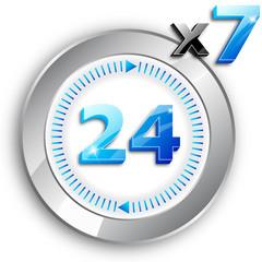 24x7 Blue