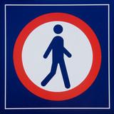 Beware pedestrians! poster