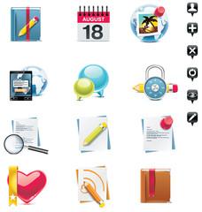 Vector social media icons set. Part 2