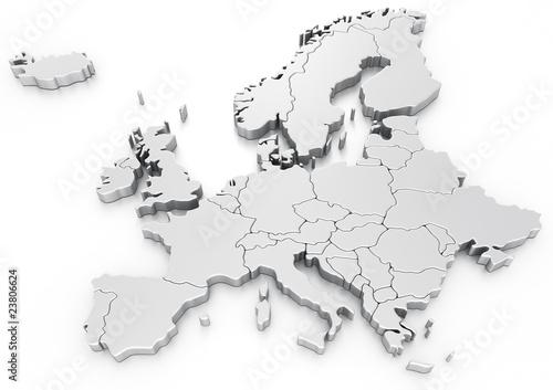 Euro map - 23806624