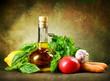 Oliwa aromatyzowana zdrowymi przysmakami