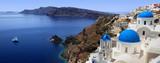 Piękno Santorini uchwycone w panoramie