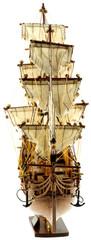 """maquette du voilier """"Bounty"""", fond blanc"""