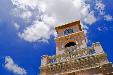 Clock tower,Phuket Thailand