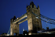 Tower Bridge at night, London