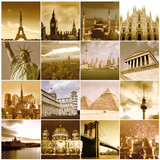 Fototapety Travel around the world