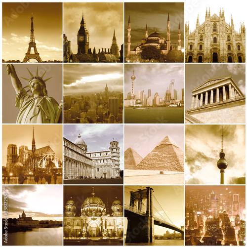 Poster Travel around the world