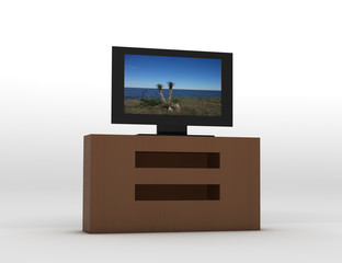 Televisor con pantalla de plasma