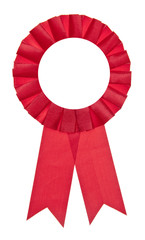 Red Fair Winner Ribbon