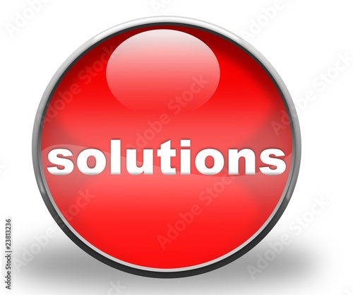 solutions red icon