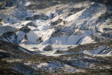 The Tasman Glacier, New Zealand