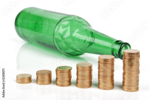 coins with drinking