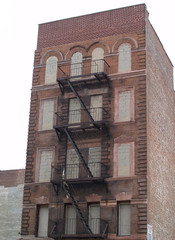 Condemned NYC Apartment Building