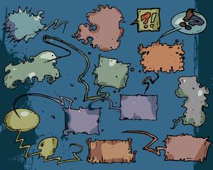 Comic book baloons