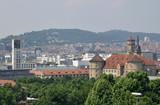 Stuttgart Rathaus und altes Schloss