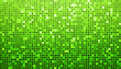 Green Disco Matrix Background