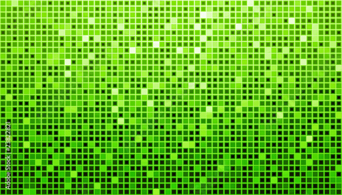 Green Disco Matrix Background