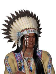 Indianerporträt