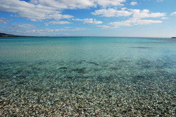 Sardinian crystal water