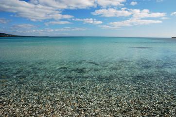 Sardinian crystal water
