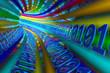 Multicolored tunnel data
