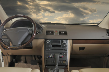 Car interior - a series of NEW CAR images.