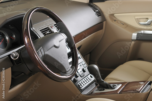 Car interior - a series of NEW CAR images.