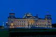 Berlin Reichstag mit Fernsehturm City