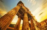 Old RuinsRoman Columns in Baalbeck, Lebanon