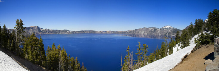 Crater Lake National Park Panoramic View