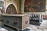 Kráľovské hrobky v katedrále Roskilde v Dánsku