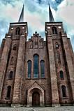 Roskilde székesegyház Dániában HDR