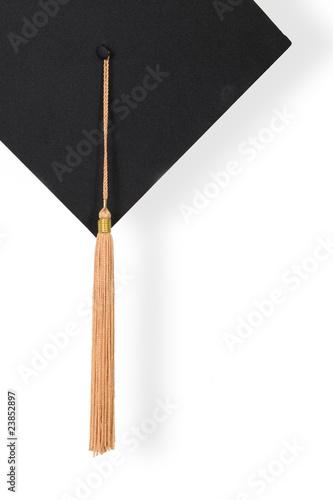 Leinwanddruck Bild Graduation Cap