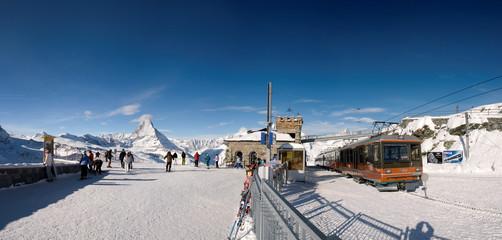 Matterhorn, Gornergrat train