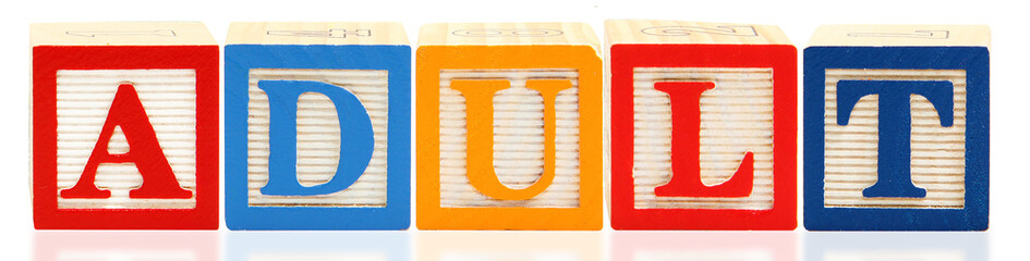 Alphabet Blocks ADULT
