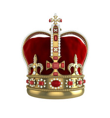 Crown front view