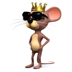 3d King mouse