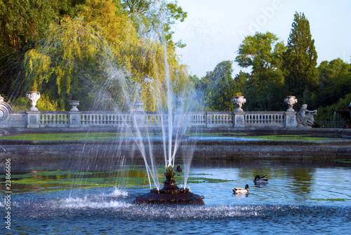 Fountain in Hyde Park, London