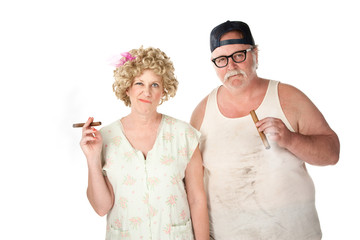 Cigar couple