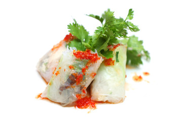 Chinese Spring Rolls (Popia)